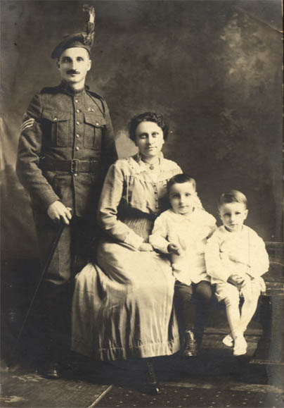 George Whitman and Family