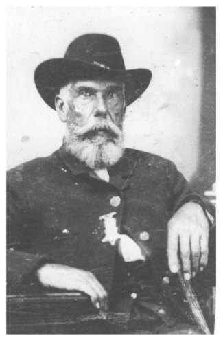 John Wade Whitman in Civil War Uniform