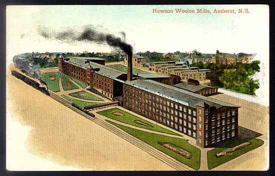 (amherst woolen mill)