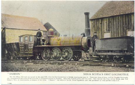 (1st locomotive)