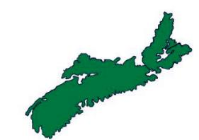 {P. D. 's map of Nova Scotia}